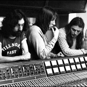 Pink Floyd May 1971 Studio