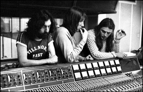 Pink Floyd May 1971 Studio