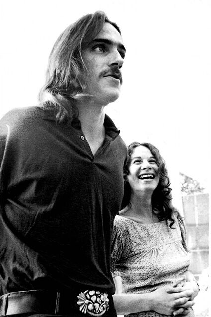 James Taylor and Carole King London 1971
