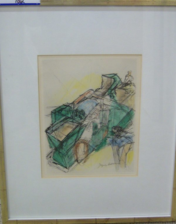 2 Hand Signed Watercolors