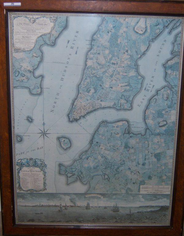 New York Harbor Map