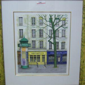 3 Parisian scenes by ANGELO Mozziconacci