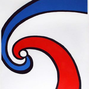 SWIRL (RED AND BLUE WAVE) 1970