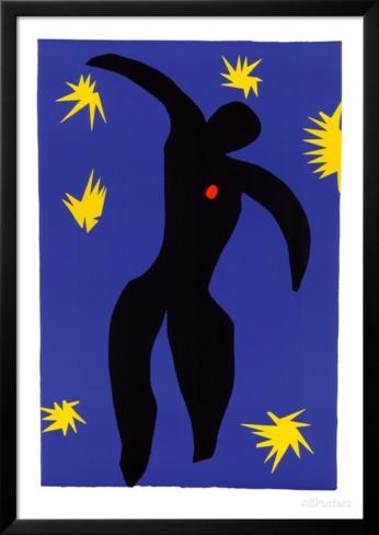 Henri Matisse La Chute d'Icare (The Fall of Icarus)