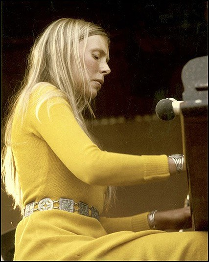 Joni Mitchell On The Verge Of Tears