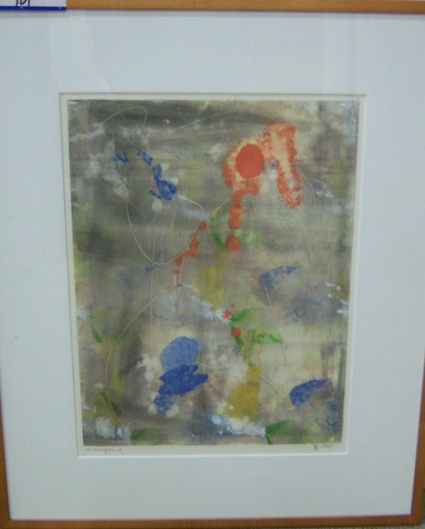 2 Helge Hunter Monoprints