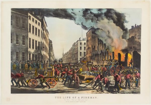 The Life of a Fireman. The Fire. - Springfield Museums
