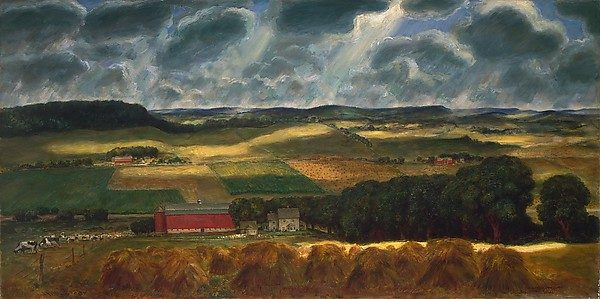 John Steuart Curry Wisconsin Landscape
