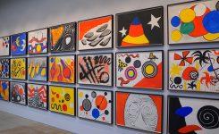 Alexander Calder gouaches ( a specialty)